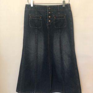 GAP Denim Maxi Skirt (4)
